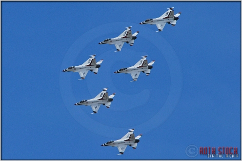 United States Air Force Thunderbirds Practice for the 2012 U.S. Air Force Academy Commencement Ceremony