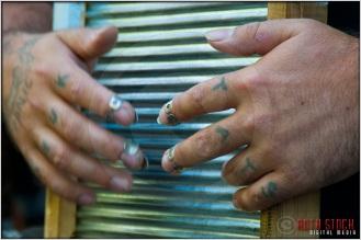 Bluegrass Band: Washboard