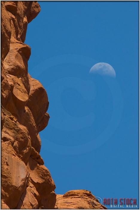 Moonrise Over Bell Rock Vortex in Sedona, Arizona