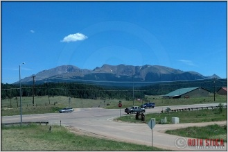 6.25.12 - Waldo Canyon Fire: View of Pikes Peak from Woodland Park (Mobile)