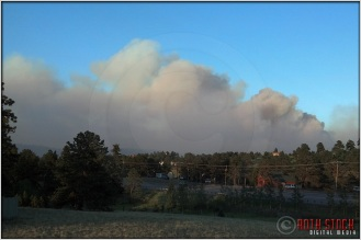 6.25.12 - Waldo Canyon Fire: View From Woodland Park (Mobile)