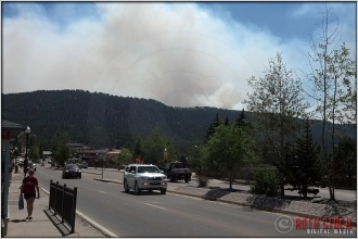 6.26.12 - 11:10am - Waldo Canyon Fire: View From Woodland Park (Mobile)