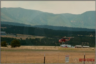 3:26:07pm - Waldo Canyon Fire: Sikorsky S-64 Firefighting Helicopter