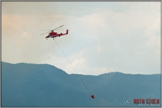 3:31:45pm - Waldo Canyon Fire: Firefighting Helicopter
