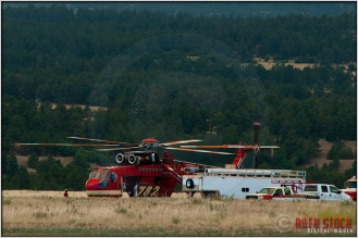 3:37:16pm - Waldo Canyon Fire: Sikorsky S-64 Firefighting Helicopter