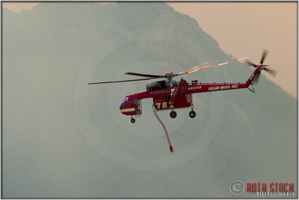3:40:46pm - Waldo Canyon Fire: Sikorsky S-64 Firefighting Helicopter