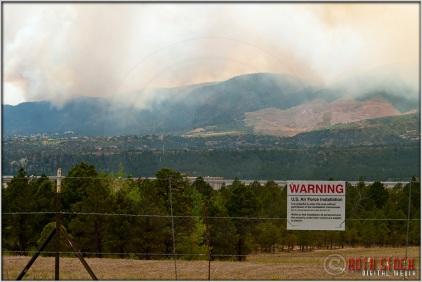 3:45:53pm - Waldo Canyon Fire: USAF Academy