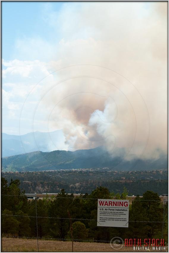 3:46:36pm - Waldo Canyon Fire: USAF Academy