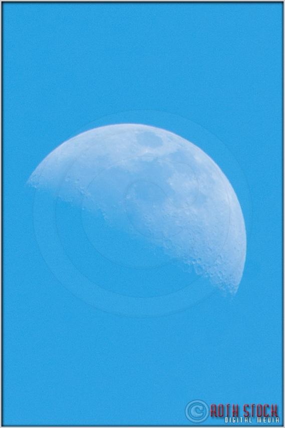 3:48:55pm - Waldo Canyon Fire: Moon Closeup