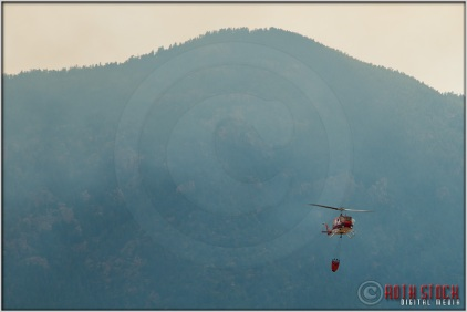 3:51:11pm - Waldo Canyon Fire: Firefighting Helicopters