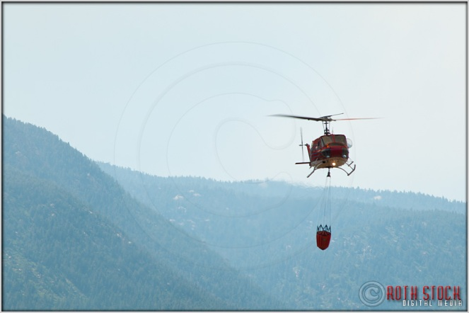 3:51:32pm - Waldo Canyon Fire: Firefighting Helicopters