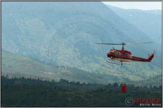 3:51:45pm - Waldo Canyon Fire: Firefighting Helicopters