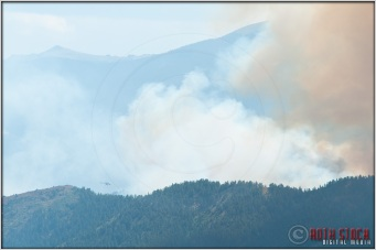 3:55:41pm - Waldo Canyon Fire: Firefighting Helicopters