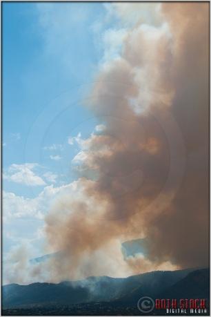 3:56:47pm - Waldo Canyon Fire: Smoke Fills The Sky