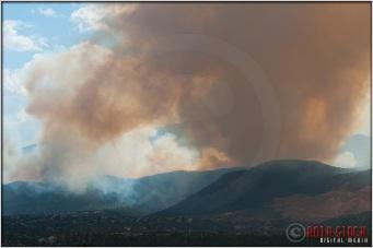 3:57:15pm - Waldo Canyon Fire: Smoke Fills The Sky