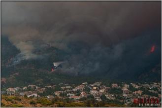 4:50:49pm - Waldo Canyon Fire: Water Drop