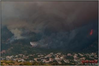 4:50:50pm - Waldo Canyon Fire: Water Drop