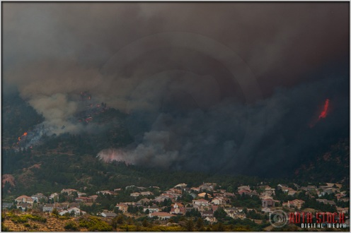4:50:52pm - Waldo Canyon Fire: Water Drop