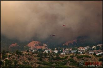 5:08:01pm - Waldo Canyon Fire: Fire Column Collapse