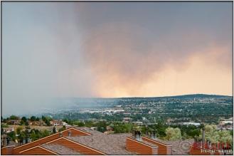 5:16:25pm - Waldo Canyon Fire: Smoke Fills the Sky