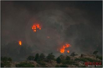 8:17:59pm - Waldo Canyon Fire: Firestorm Engulfs Mountain Shadows
