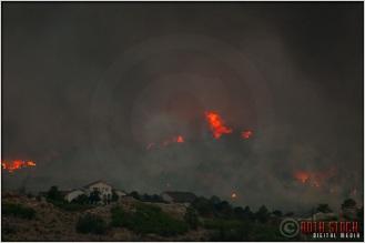 8:18:08pm - Waldo Canyon Fire: Firestorm Engulfs Mountain Shadows