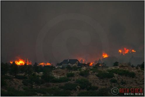 8:18:10pm - Waldo Canyon Fire: Firestorm Engulfs Mountain Shadows