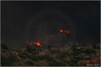 8:18:13pm - Waldo Canyon Fire: Firestorm Engulfs Mountain Shadows
