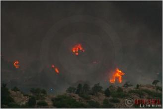 8:18:24pm - Waldo Canyon Fire: Firestorm Engulfs Mountain Shadows
