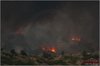 8:18:26pm - Waldo Canyon Fire: Firestorm Engulfs Mountain Shadows