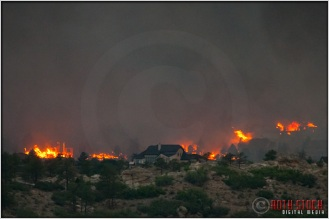 8:18:30pm - Waldo Canyon Fire: Firestorm Engulfs Mountain Shadows