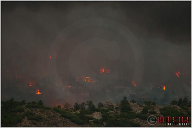 8:18:55pm - Waldo Canyon Fire: Firestorm Engulfs Mountain Shadows