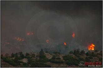 8:18:56pm - Waldo Canyon Fire: Firestorm Engulfs Mountain Shadows