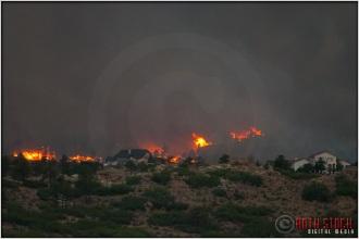 8:19:27pm - Waldo Canyon Fire: Firestorm Engulfs Mountain Shadows