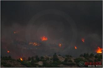 8:19:48pm - Waldo Canyon Fire: Firestorm Engulfs Mountain Shadows