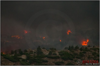8:19:57pm - Waldo Canyon Fire: Firestorm Engulfs Mountain Shadows