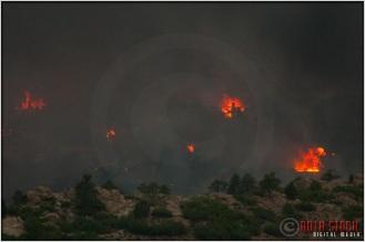 8:20:03pm - Waldo Canyon Fire: Firestorm Engulfs Mountain Shadows