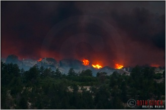 8:20:28pm - Waldo Canyon Fire: Firestorm Engulfs Mountain Shadows
