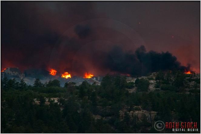 8:20:41pm - Waldo Canyon Fire: Firestorm Engulfs Mountain Shadows