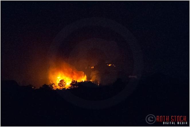 8:49:56pm - Waldo Canyon Fire: Firestorm Engulfs Mountain Shadows