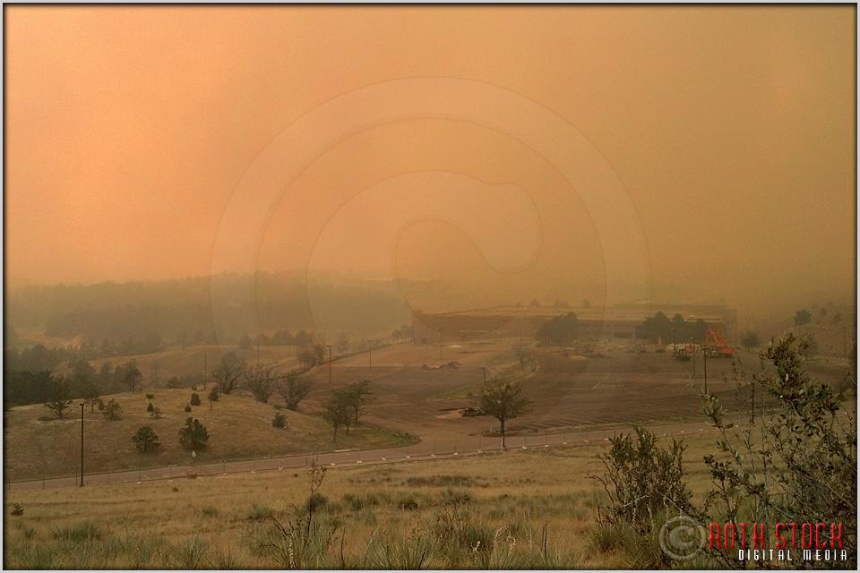 5:18:00pm - Waldo Canyon Fire: Fire Column Collapse (Mobile)