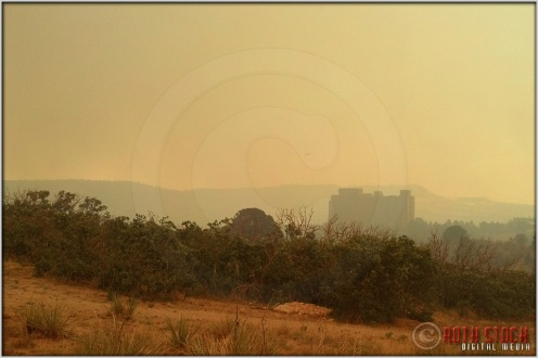 5:18:10pm - Waldo Canyon Fire: Fire Column Collapse (Mobile)