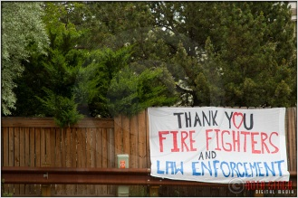6.30.12 - Waldo Canyon Fire: Thank You Firefighters and Law Enforcement