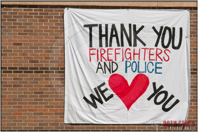 7.6.12 - Waldo Canyon Fire: Thank You Firefighters and Police