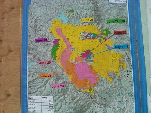 7.5.12 - Waldo Canyon Fire: Map of the Burn Area