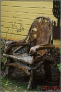 Rustic Armchair, Crested Butte, Colorado