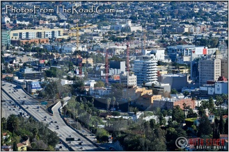 Capitol Records Building as Seen From Mulholland Drive