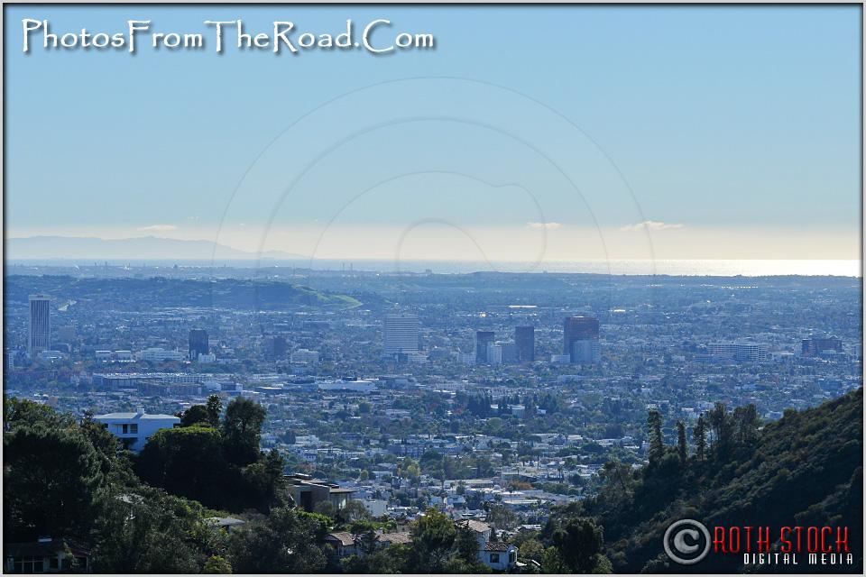 Santa Monica Bay as Seen From Mulholland Drive
