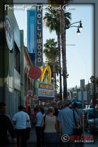 Hollywood Blvd. Street Scenes