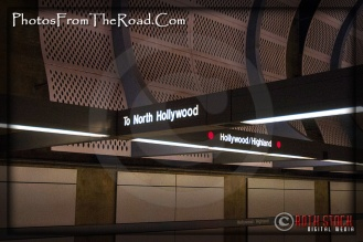 LA Metro Rail Hollywood & Highland Station